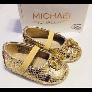 Michael Kors Baby Giby Girl Shoes Size 6-9 Months